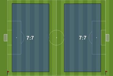 Kích thước sân bóng đá 7 người tiêu chuẩn VFF