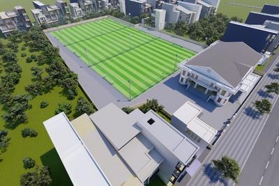 Bản vẽ thiết kế sân bóng đá mini 7 người, sân bóng 5 người